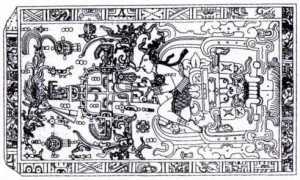 Sargdeckel in Palenque