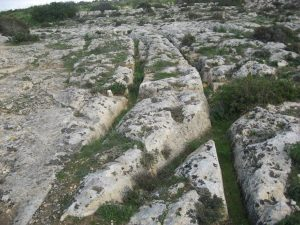 Cart ruts Malta